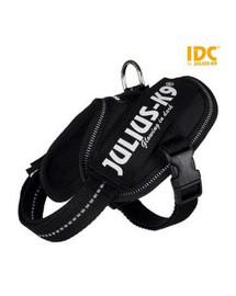 TRIXIE Postroj pre psov Julius-K9 IDC Mini-Mini/S: 40–53 cm/22 mm čierny