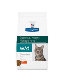 HILL'S Prescription Diet w / d Feline 5 kg