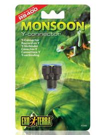 """ExoTerra """"Y"""" konektor do ostrekovacieho systému Monsoon"""
