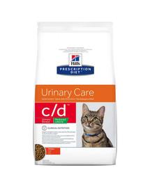 HILL'S Prescription Diet Feline c/d Stress Reduced Calorie Chicken 4 kg