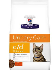 HILL'S Prescription Diet Feline c / d Multicare Chicken 10 kg