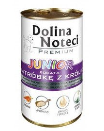 DOLINA NOTECI Premium Junior bohaté na králičiu pečeň 400g