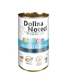 DOLINA NOTECI Premium Junior bohaté na jahňacie 400g