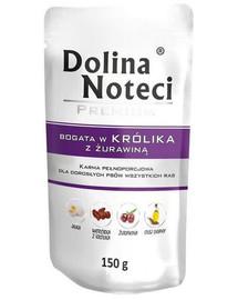 DOLINA NOTECI Premium bohaté na králika s brusnicou 150g