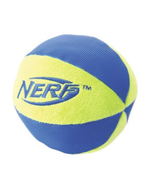 NERF Nylonová lopta L zelený/oranžový