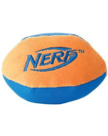 NERF Nylonové rugby lopta L zelená/oranžová