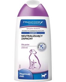 FRANCODEX šampón proti zápachu pes 250 ml