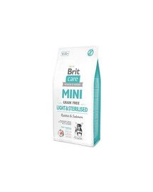 BRIT Care Grain Free Mini Light & Sterilised  2 kg