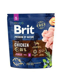 BRIT Premium By Nature Junior Small S 1 kg