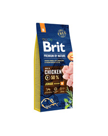 BRIT Premium By Nature Junior Medium M 15 kg