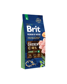 BRIT Premium By Nature Junior Extra Large XL 15 kg