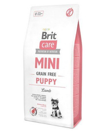 BRIT Care Mini Grain Free Mini Puppy Lamb 7 kg