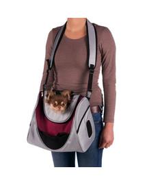 TRIXIE taška MITCH na rameno nebo hrudník 35x28x22 cm