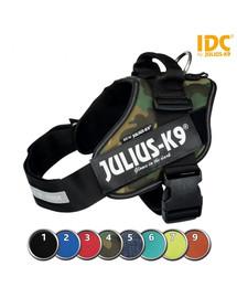 TRIXIE Postroj Julius-K9®, 0/M–L: 58–76 cm/40 mm, jeans