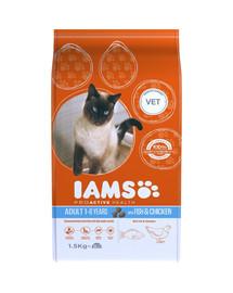 IAMS Cat Adult All Breeds Ocean Fish 1.5 kg