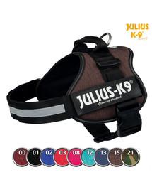 TRIXIE Postroj Julius-K9®, 0/M–L: 58–76 cm/40 mm, indygo