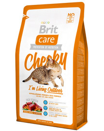 BRIT Care Cat Cheeky Im Living Outdoor 2kg