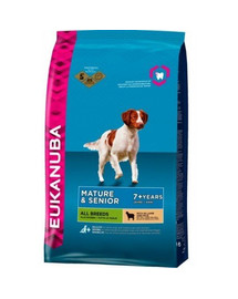 EUKANUBA Senior All Breeds Lamb & Rice 12 kg