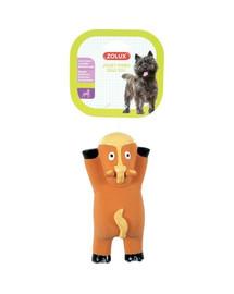 ZOLUX Hračka pre psa Sleeping animal kôň latex 16cm