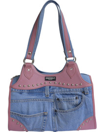 DOGGY DOLLY Bag jeans 41x23x26 cm