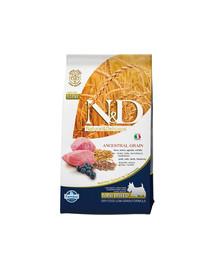 Farmina N&D dog Low Grain Adult Mini Lamb, Spelt, Oats & Blueberry 2,5 kg