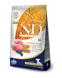 N & D Low Grain adult MINI lamb and blueberry 7 kg