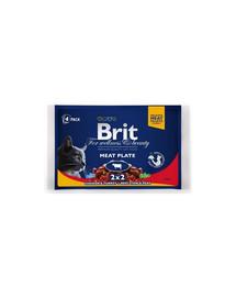 BRIT Cat Adult Meat Plate 100g