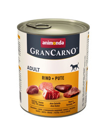 ANIMONDA Grancarno morčacie konzerva 800 g