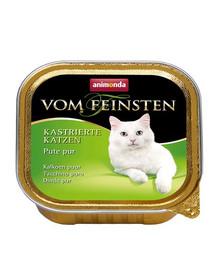 ANIMONDA kapsa Vom Feinsten Cat Castrate Krůtí 100 g