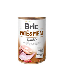 BRIT Pate & meat rabbit 400 g