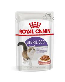 ROYAL CANIN Sterilised v omáčke 85 g