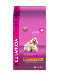 EUKANUBA Weight Control Adult Medium Breeds Chicken 3 kg