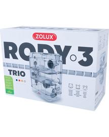 ZOLUX Klietka pre škrečkov Rody 3 TRIO biela 41x27x53cm