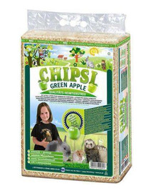 JRS Chipsi zelené jablko 60 l piliny