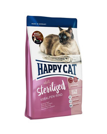 HAPPY CAT Supreme sterilised hovädzie 4 kg