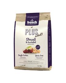 BOSCH Plus pštros & zemiaky 2,5 kg