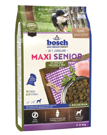 BOSCH Maxi Senior hydinové mäso a ryža 2,5 kg