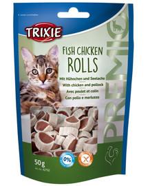 TRIXIE Premio Fish Chicken Rolls kuracie a treska 50g 42702
