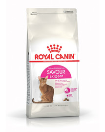 ROYAL CANIN Savour Exigent 4kg granule pre maškrtné mačky