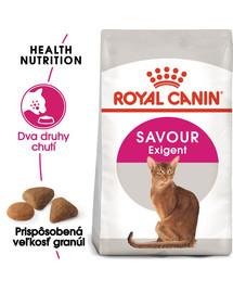 ROYAL CANIN Savour Exigent 10kg granule pre maškrtné mačky