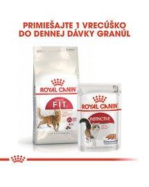 ROYAL CANIN Fit 400g granule pre správnu kondíciu mačiek