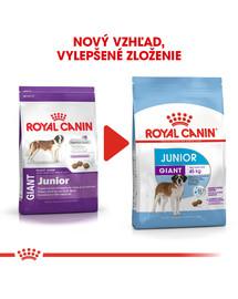 ROYAL CANIN Giant Junior 15 kg granule pre obrie šteňatá