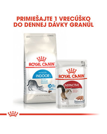 ROYAL CANIN Indoor 10kg granule pre mačky žijúce vo vnútri