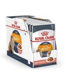 ROYAL CANIN Intense Beauty Gravy 85g kapsička pre mačky v šťave