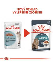 ROYAL CANIN Hairball Care Gravy 85g kapsička pre mačky v šťave pre správne vylučovanie zámotkov v šťave