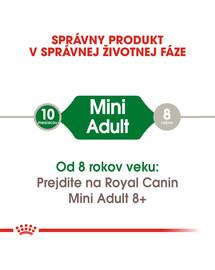 ROYAL CANIN Mini Adult 8kg granule pre dospelé malé psy