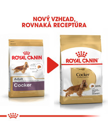 ROYAL CANIN Cocker Adult 12kg granule pre dospelého kokeršpaniela