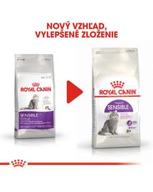 ROYAL CANIN Sensible 10kg granule pre mačky s citlivým trávením