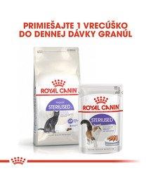 ROYAL CANIN Sterilised 400g granule pre kastrované mačky