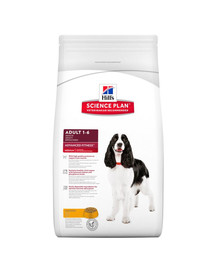 HILL'S Science Plan Canine Adult Advanced Fitness Large Breed Chicken 12 kg